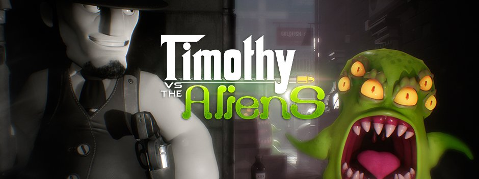 Timothy aliens vs playstation games camp ps4